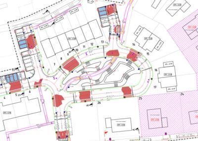 Nieuwplan Hofhoeck Ouddorp tekening 2